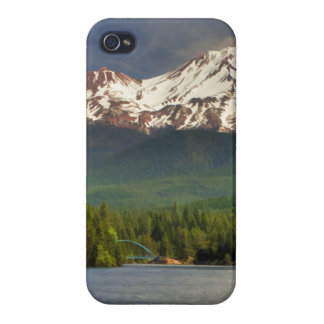 MT SHASTA FROM LAKE SISKIYOU CASES FOR iPhone 4