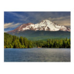 MT SHASTA FROM LAKE SISKIYOU POST CARDS