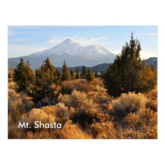 Mt. Shasta in the Fall Postcard