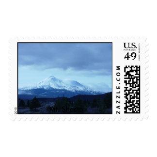 Mt. Shasta Postage Stamps