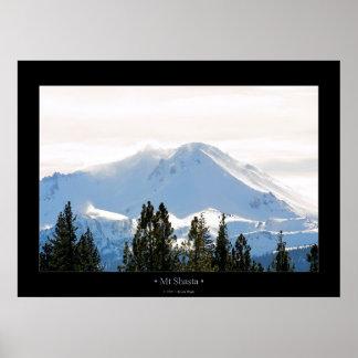 Mt Shasta Print