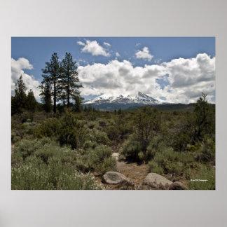 Mt. Shasta Print