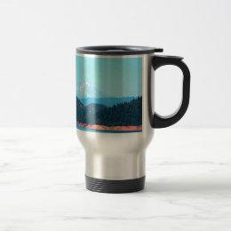 Mt Shasta Travel Mug