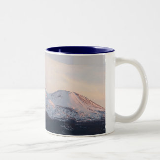 Mt. Shasta Two-Tone Coffee Mug