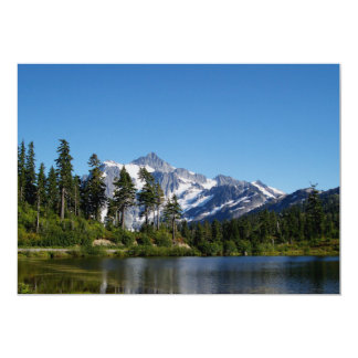 Mt Shuksan From Picture Lake Card