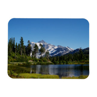 Mt Shuksan from Picture Lake Magnet