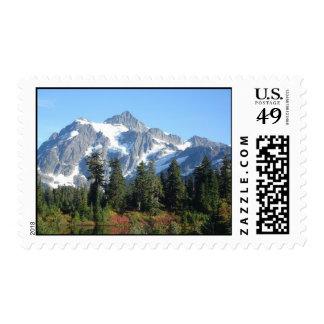 Mt Shuksan Washington Stamp