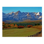 Mt Sneffels and the San Juans from Dallas Divide Postcard
