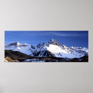 Mt. Sneffels Panorama Poster