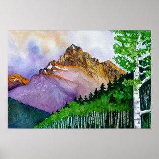 Mt. Sneffels-Summer Poster