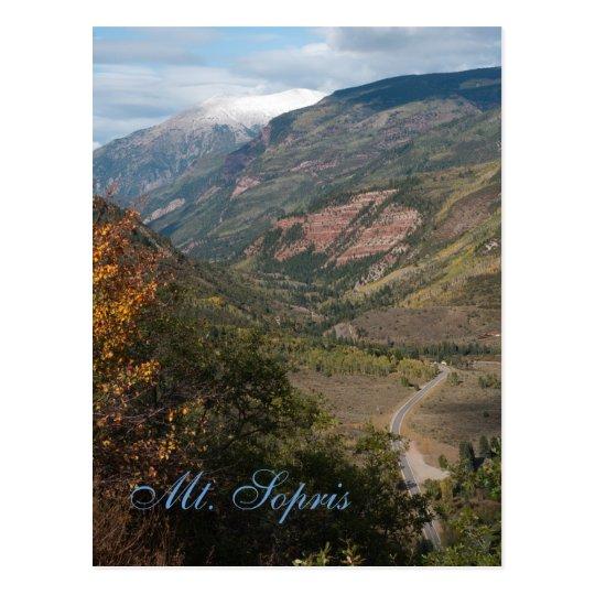 Mt. Sopris, Colorado Postcard
