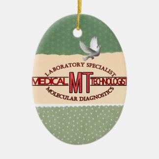 MT SPECIALIST MOLECULAR DIAGNOSTICS MEDICAL TECH CERAMIC ORNAMENT