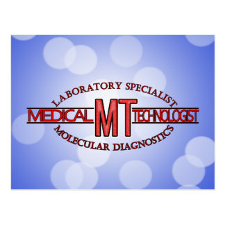 MT SPECIALIST MOLECULAR DIAGNOSTICS MEDICAL TECH POSTCARD