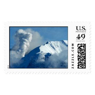Mt. St. Helens Blows Steam Postage