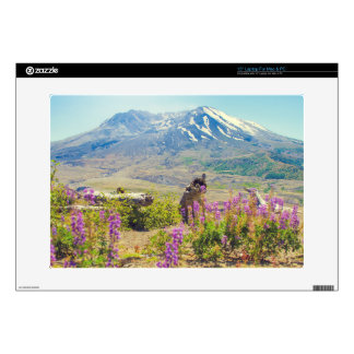 "Mt. St. Helens Decals For 15"" Laptops"