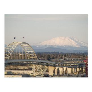 Mt St Helens & Fremont Bridge Postcards