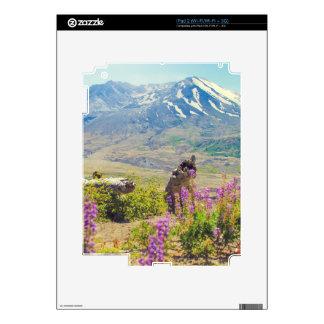 Mt. St. Helens iPad 2 Decals
