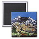 Mt St Helens Refrigerator Magnet