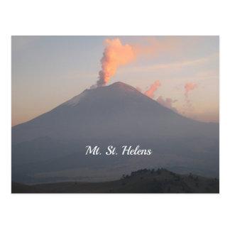 Mt. St Helens Tarjetas Postales