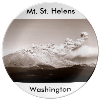 Mt. St. Helens Washington State Plate