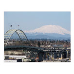 Mt St Helens y postales del puente de Fremont