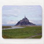 Mt. St Michel, France - Rachel McKoen Mouse Mat