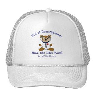 MT-Stuff Original MT Bear Trucker Hat