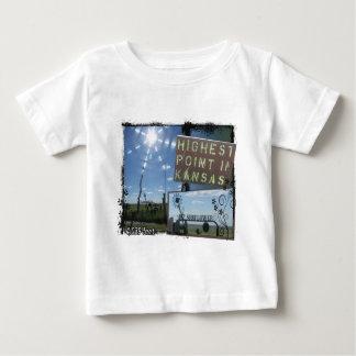 Mt. SUN FLOWER - HIGHEST POINT KANSAS Baby T-Shirt