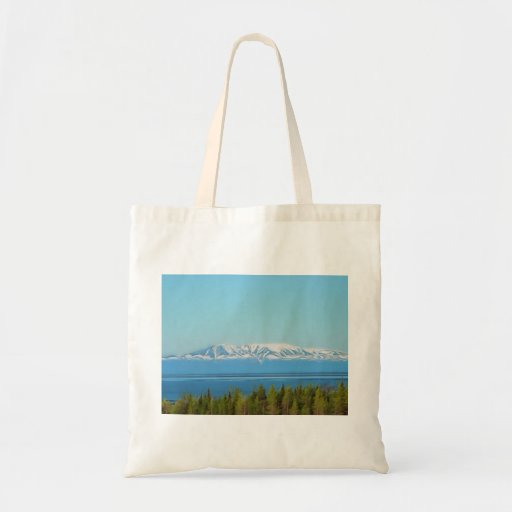 Mt. Susitna Tote Bags