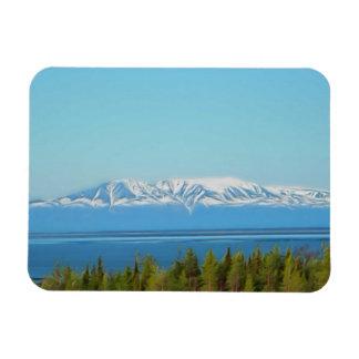 Mt. Susitna Rectangle Magnets