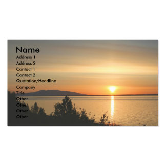 Mt.Susitna /Sleeping Lady Business Card