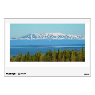 Mt. Susitna Wall Decal