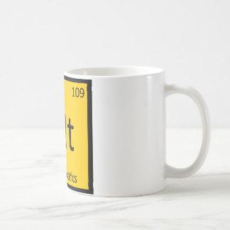 Mt - Tabla periódica de la química importante de l Taza De Café