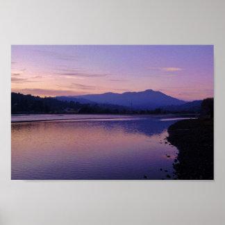 Mt. Tamalpais, California Póster