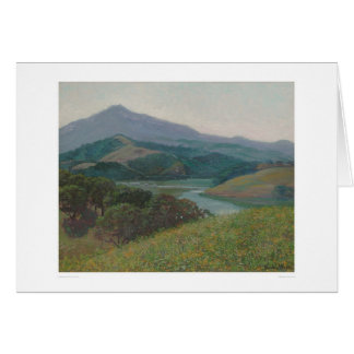 Mt. Tamalpais from Corte Madera Creek (1153) Card