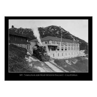 Mt Tamalpais & Mill Valley Railway Photo Poster