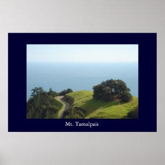 Mt Tamalpais Poster