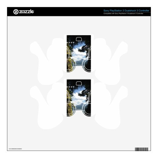 Mt. Thielsen across diamond lake Decal For PS3 Controller