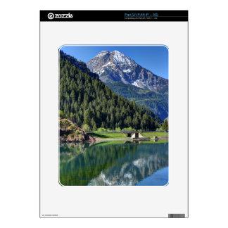 Mt. Timpanogos - Tibble Fork Reservoir - Utah Decal For iPad