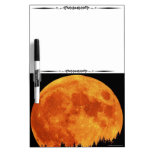 Mt Top Harvest Moon Decorative Whiteboard Dry-Erase Whiteboards