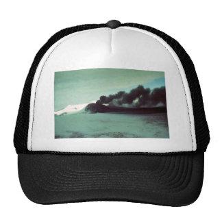 Mt. Veniaminof Erupting Trucker Hat