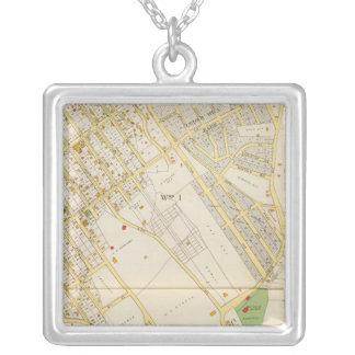 Mt Vernon 1 Square Pendant Necklace