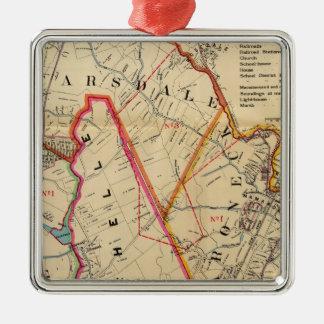 Mt. Vernon, E Chester, Pelham, New Rochelle, NY Metal Ornament