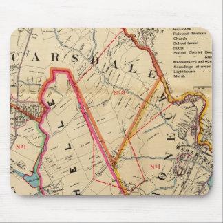 Mt. Vernon, E Chester, Pelham, New Rochelle, NY Mouse Pad