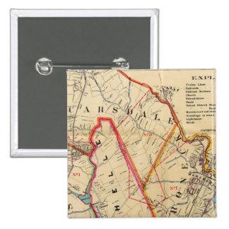 Mt. Vernon, E Chester, Pelham, New Rochelle, NY Pinback Button