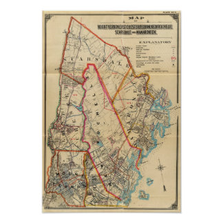 Mt. Vernon, E Chester, Pelham, New Rochelle, NY Poster