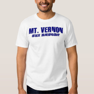 Mt. Vernon Ski Resort vintage tee