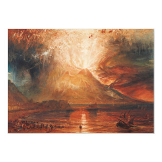 Mt. Vesuvius Invitations