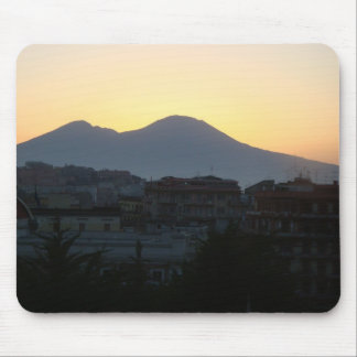 Mt. Vesuvius Sunrise Mouse Pad