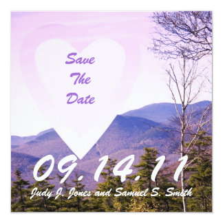 Mt. View Save the Date Card. Card